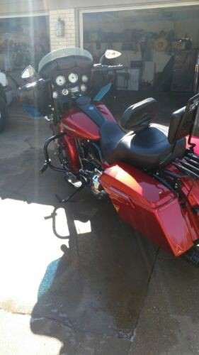 2013 Harley-Davidson Touring Burgundy for sale