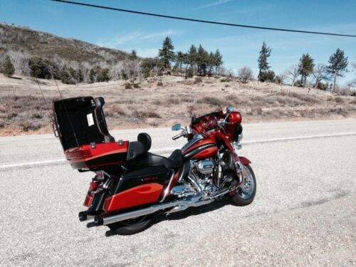 2013 Harley-Davidson Touring Orange for sale craigslist