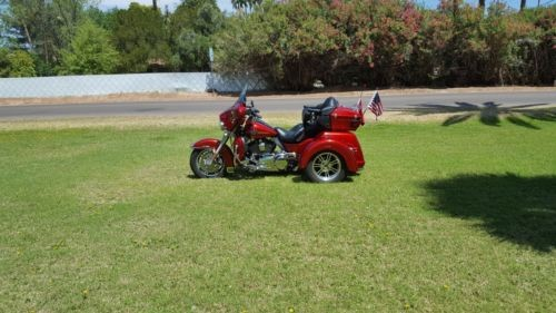 2013 Harley-Davidson Touring Tri Glide Trike Red for sale craigslist