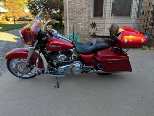 2013 Harley-Davidson Touring Sunglow Indiglow red for sale craigslist