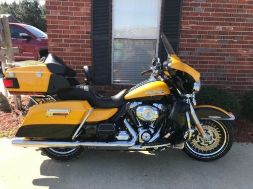 2013 Harley-Davidson Touring Yellow for sale