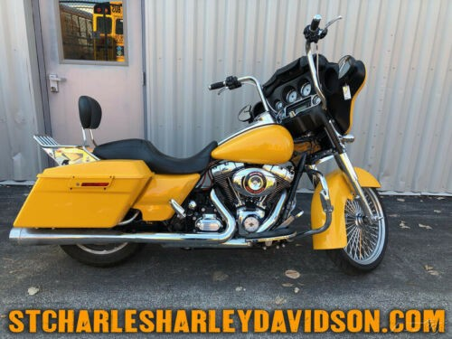 2013 Harley-Davidson Touring Yellow for sale craigslist