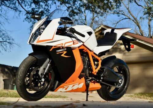 2013 KTM RC8 R white for sale