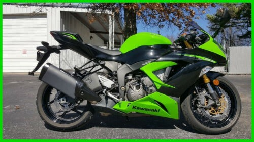 2013 Kawasaki Ninja ZX-6R Kawasaki Green and Black craigslist