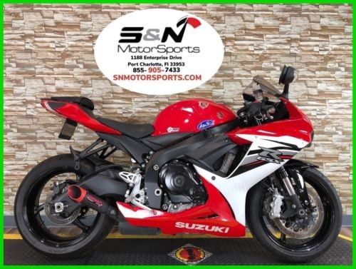 2013 Suzuki GSX-R 600 Red/White for sale craigslist