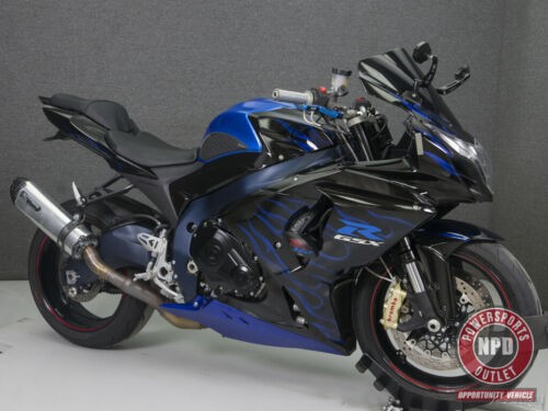 2013 Suzuki Gsxr1000 Gsxr1000 BLACK/BLUE W/FLAMES for sale