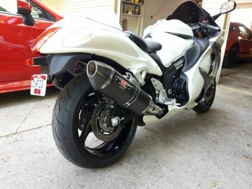 2013 Suzuki Hayabusa White for sale