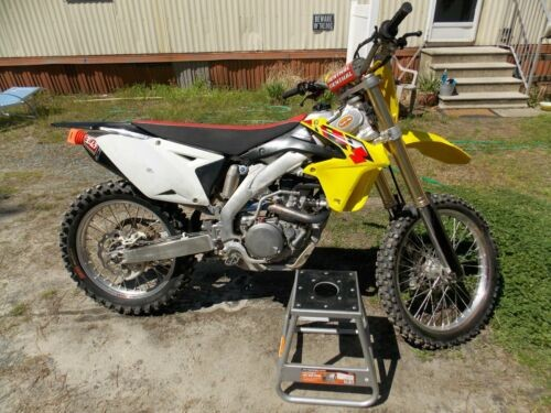 2013 Suzuki RM-Z Yellow for sale