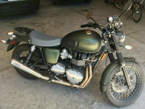2013 Triumph Bonneville Green for sale craigslist