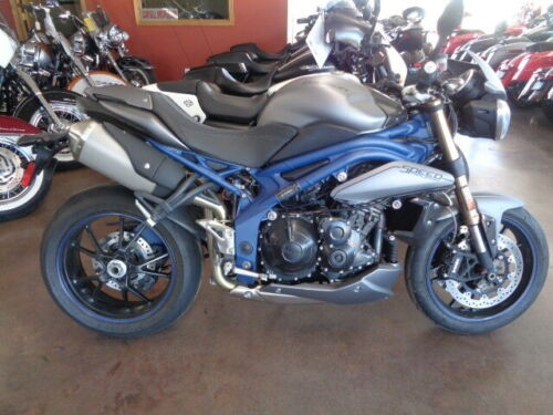 2013 Triumph Speed Triple GRAY for sale