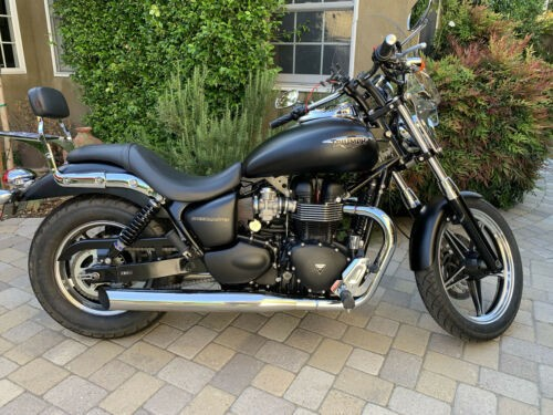2013 Triumph Speedmaster Black for sale craigslist