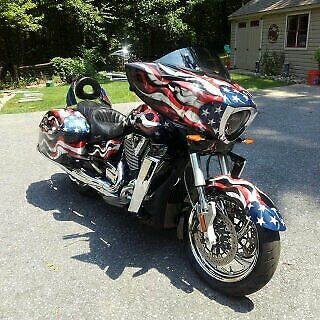 2013 Victory Cross Country -- Black for sale