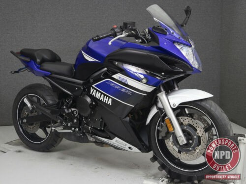 2013 Yamaha FZ 6R 600 DEEP PURPLISH BLUE METALLIC for sale craigslist