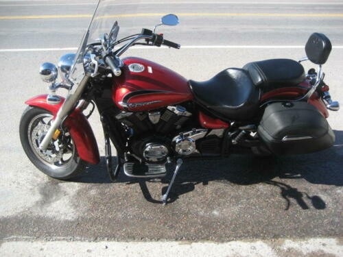 2013 Yamaha V Star Red for sale craigslist