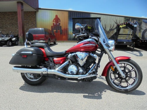 2013 Yamaha V Star Tourer Red for sale craigslist