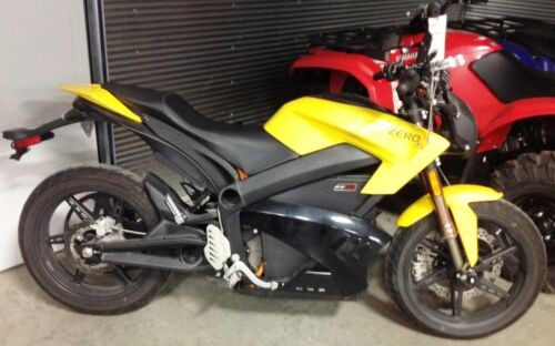 2013 Zero Motorcycles Zero S™ Streetfighter -- Yellow for sale craigslist