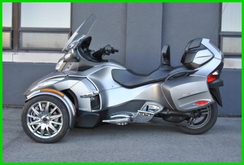 2014 Can-Am Spyder RT Limited (6 sp Electric Shift)- B9EE RT Limited B9EE Silver Platinum Satin for sale