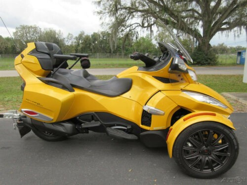 2014 Can-Am Spyder RT-S Yellow for sale craigslist
