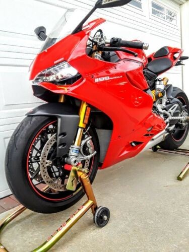 2014 Ducati Superbike Red for sale