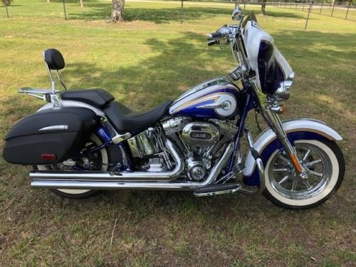 2014 Harley-Davidson CVO SOFTAIL DELUXE White for sale craigslist