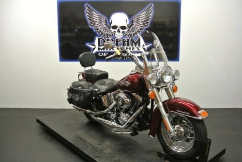 2014 Harley-Davidson FLSTC - Heritage Softail Classic -- Red for sale craigslist