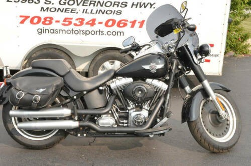 2014 Harley-Davidson FLSTFB - Softail® Fat Boy® Lo -- Black for sale craigslist