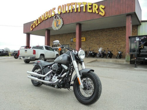 2014 Harley-Davidson Fls Softail Slim Fls Slim Gray for sale