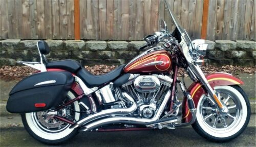 2014 Harley-Davidson Softail Crimson Red/Ruby Flake craigslist