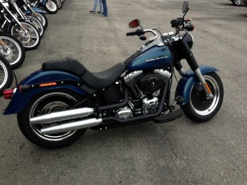 2014 Harley-Davidson Softail Daytona Pearl Blue for sale craigslist
