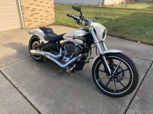 2014 Harley-Davidson Softail White for sale craigslist