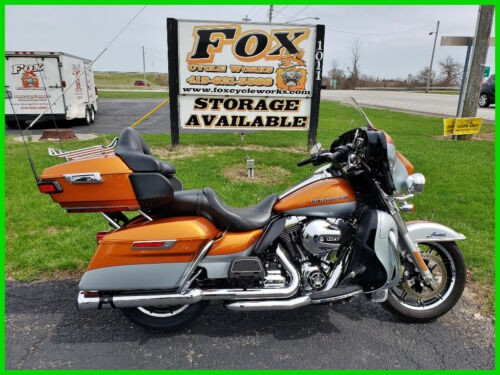 2014 Harley-Davidson Touring FLHTK Electra Glide Ultra Limited - Two-Tone Amber Whisky / Brilliant Silver for sale