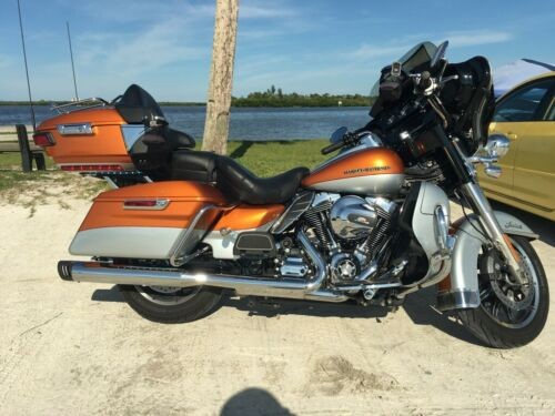 2014 Harley-Davidson Touring Amber whiskey and bright silver craigslist