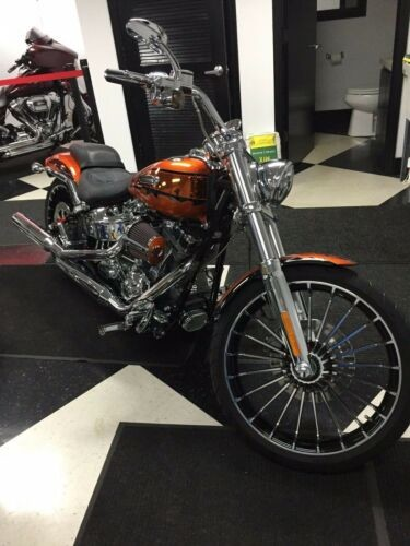 2014 Harley-Davidson Touring Orange for sale craigslist