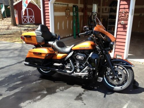 2014 Harley-Davidson Touring Orange for sale