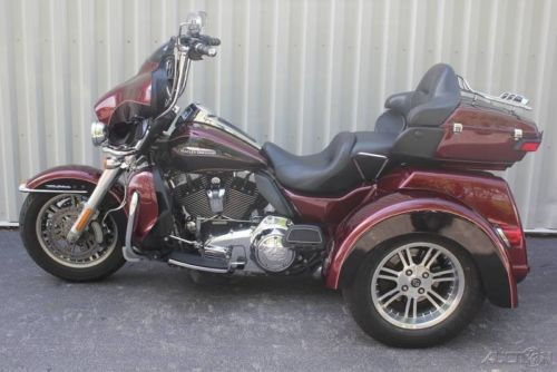 2014 Harley-Davidson Trike FLHTCUTG - Tri Glide® Ultra Mysterious Red Sunglo/Blackened Cayenne Sunglo for sale craigslist