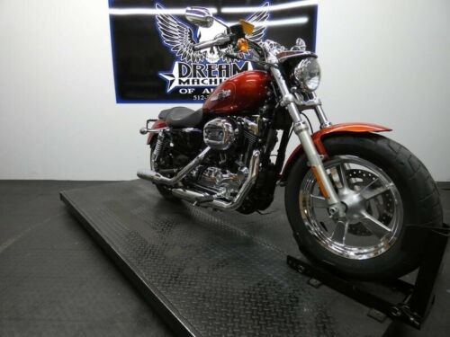 2014 Harley-Davidson XL1200C - Sportster 1200 Custom -- Red for sale craigslist