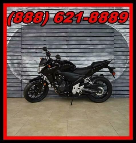 2014 Honda CB500 F Black for sale