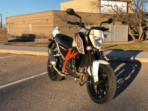 2014 KTM 690 Duke White for sale craigslist