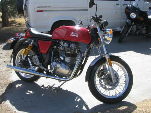 2014 Royal Enfield Continental GT Red craigslist