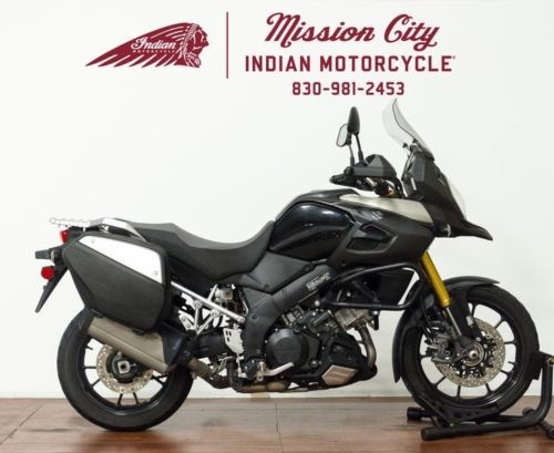 2014 Suzuki V-Strom 1000 ABS Adventure -- Black for sale craigslist