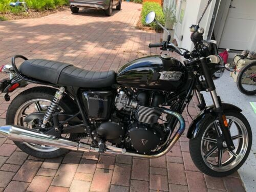 2014 Triumph Bonneville Black for sale