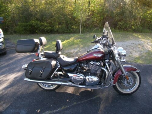 2014 Triumph Thunderbird LT Red and Black for sale