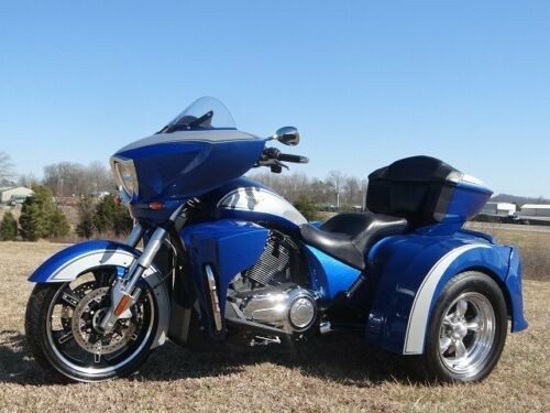 2014 Victory CROSS COUNTRY TOUR TRIKE Blue for sale
