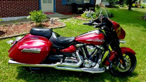 2014 Yamaha Stratoliner Red for sale craigslist
