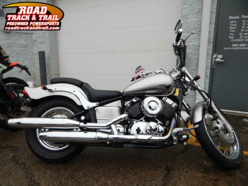 2014 Yamaha V Star® Custom 650 -- Silver for sale