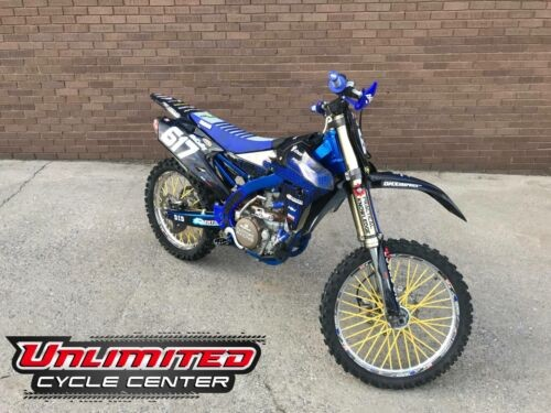 2014 Yamaha YZ450F -- Blue for sale craigslist