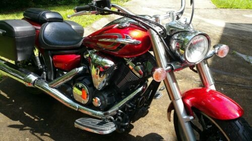 2014 Yamaha vstar 950 Red for sale craigslist