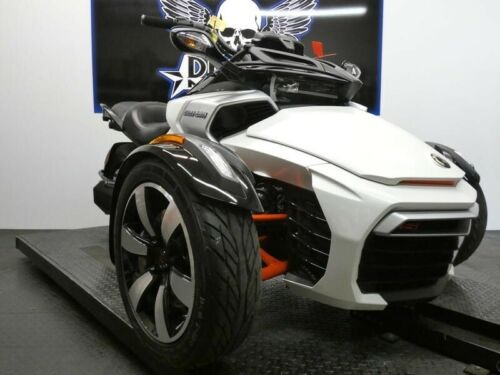 2015 Can-Am Spyder F3 S 6-Speed Manual SM6 -- Black for sale