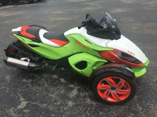 2015 Can-Am Spyder RS-S Special Series SE5 RS-S Green craigslist