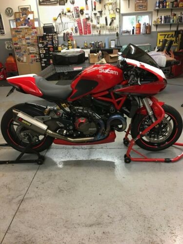 2015 Ducati Monster 821 Monster 821 Red for sale craigslist